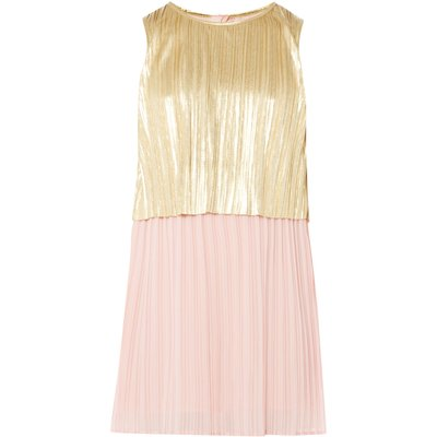 Billieblush Girls Pleated Dress, Pink