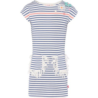Billieblush Girls Jersey Striped Dress, Blue