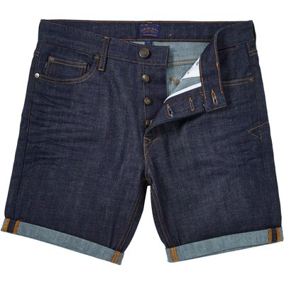 Men's Criminal Alvin Denim Short, Indigo