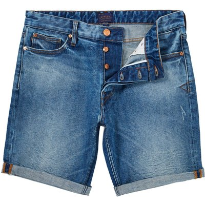 Men's Criminal Alden Denim Short, Bleach