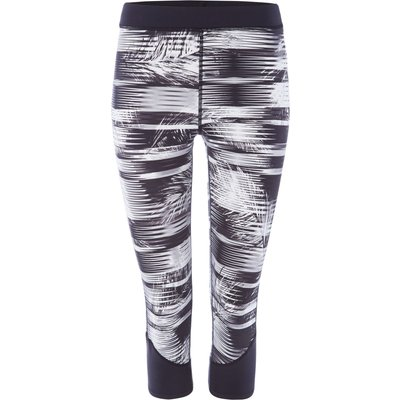 Label Lab Mono fern wickable panelled print capri, MonoSilver