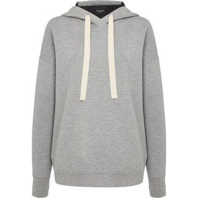 Label Lab Scuba hooded top, Grey Marl