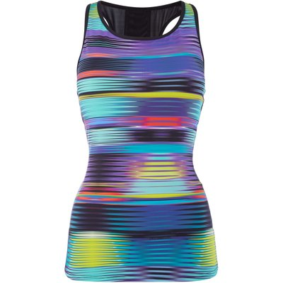 Label Lab Rainbow geo vest, Black & Rainbow