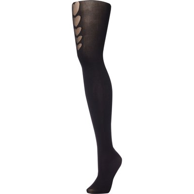 Pretty Polly Graduated Heart Mock Hold Up, Black