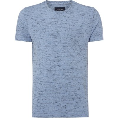 Men's Criminal Dent Spacedye T-shirt, Pale Blue