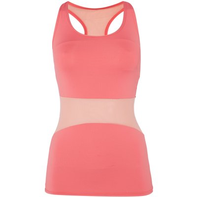 Acai Fitted tank with bra, Pink