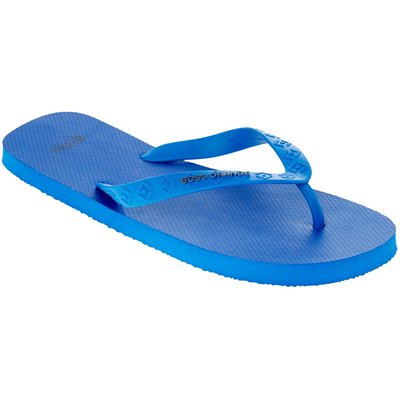 Men's Hugo Boss Logo Flip Flop, Bright Blue
