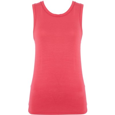 Label Lab Cross back jersey modal top, Fuchsia