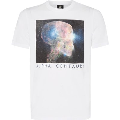 Men's PS By Paul Smith Skull print t-shirt, White