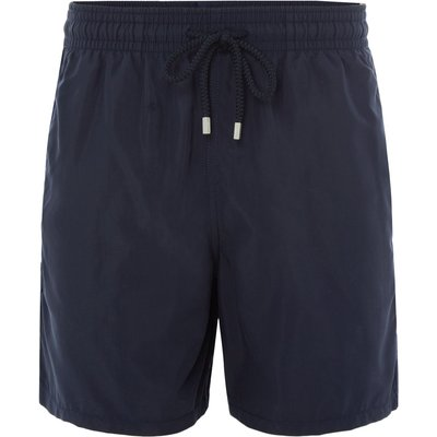 Men's Vilebrequin Moorea Solid Colour Swim Shorts, Blue
