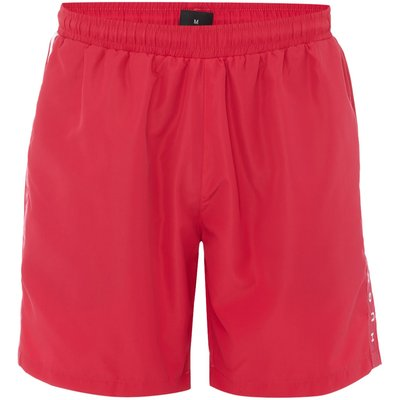 Men's Hugo Boss Seabream Side Logo Swim Shorts, Pink