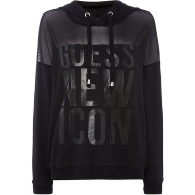Guess SW New Icon Fleece, Black