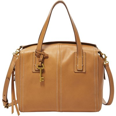 Fossil ZB6847231 emma satchel, Brown