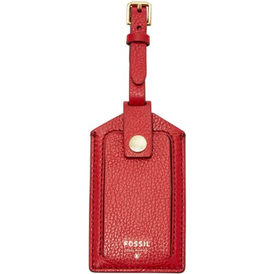 Fossil SL7304933 Luggage Tag, Red