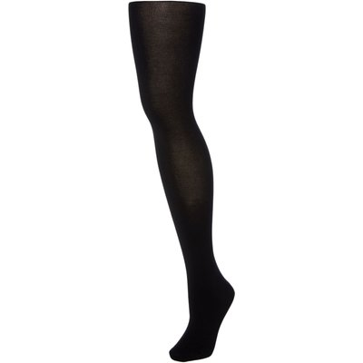 Falke Cotton touch opaque tights, Black