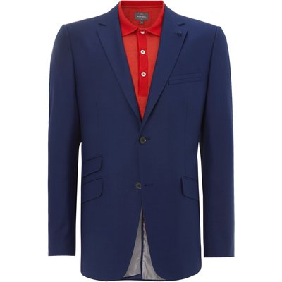 Men's Peter Werth Two button notch lapel suit jacket, Blue