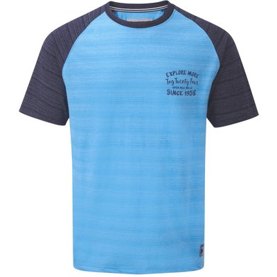 Men's Tog 24 Leyton Mens Deluxe T-Shirt Mountain, Blue