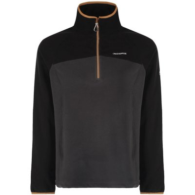 Men's Craghoppers Ionic II Half Zip, Black
