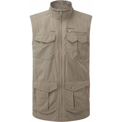 Men's Craghoppers NosiLife Adventure Gilet, White