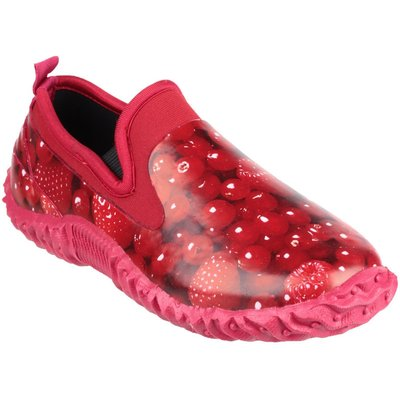 Cotswold Tindal waterproof garden shoes, Berry