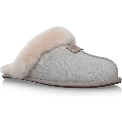UGG Scuffette II snake slippers, White