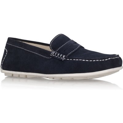 KG Farnham flat slip on loafer, Blue