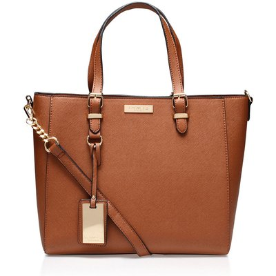 Carvela Dina winged mini tote bag, Tan