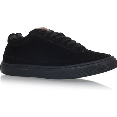 KG Howden flat lace up sneakers, Black