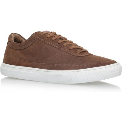 KG Howden flat lace up sneakers, Tan