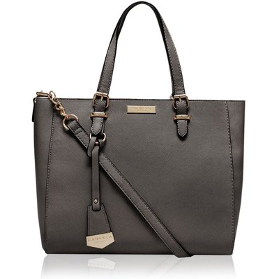 Carvela Dina winged mini tote bag, Grey