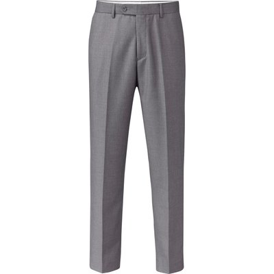 Men's Skopes Cyprus Flat Front Trousers, Grey