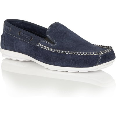 Lotus Colby slip on loafers, Blue