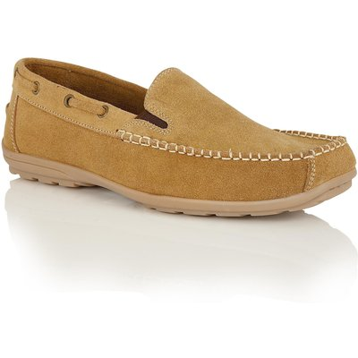 Lotus Colby slip on loafers, Tan