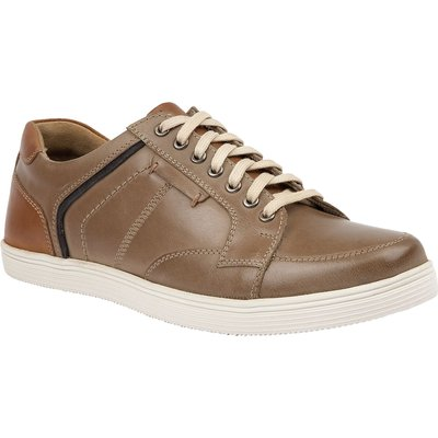 Lotus Since 1759 Edgington trainer inspired shoes, Stone