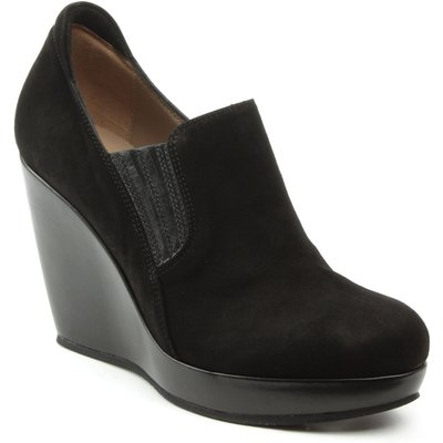 Daniel Kaleigh wedge loafers, Black
