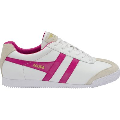 Gola Harrier leather lace up trainers, Multi-Coloured