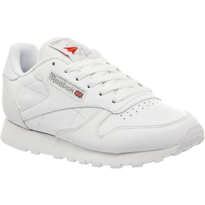 Reebok Classic leather trainers, White