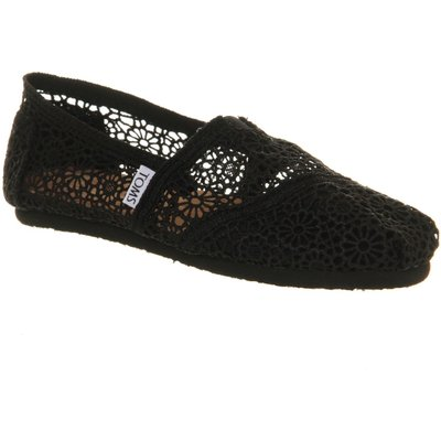 Toms Toms seasonal classic slip on shoes, Black