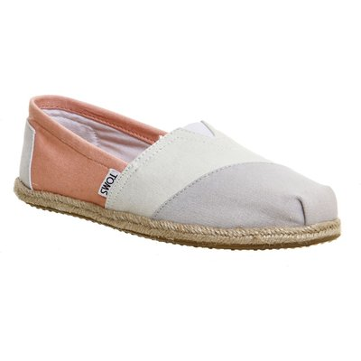 Toms Seasonal classic slip on pumps, Peach