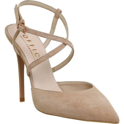 Office Here we go skinny strap courts, Nude