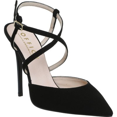Office Here we go skinny strap courts, Black