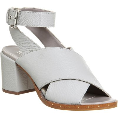 Office Montreal Cross Pattern Sandals, Grey