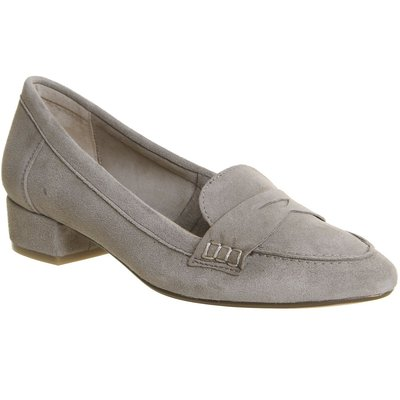 Office Farrah Block Heel Loafers, Taupe