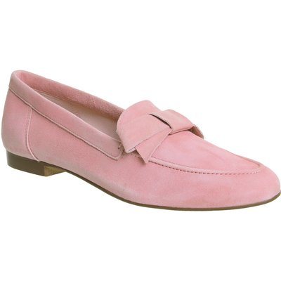 Office Fairy Floss Bow Loafers, Pink
