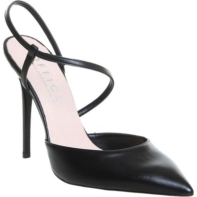 Office Highline Asymmetric Point Courts, Black