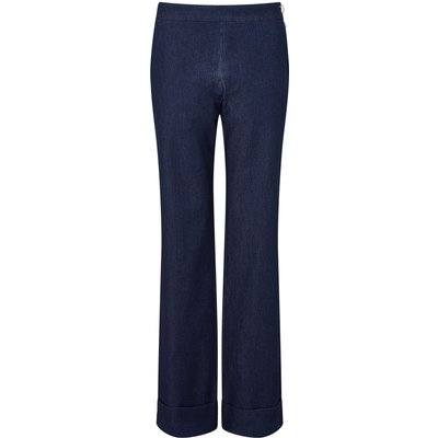 James Lakeland Denim Wide Leg Trousers, Denim
