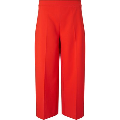 James Lakeland Wide Capri Trousers, Red