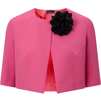 James Lakeland Pin Flower Bolero, Pink