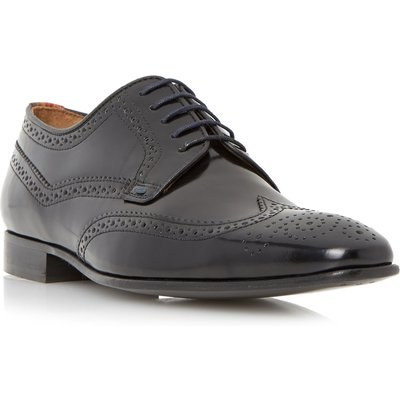 Paul Smith Aldrich Polido Wingtip Gibsons, Black
