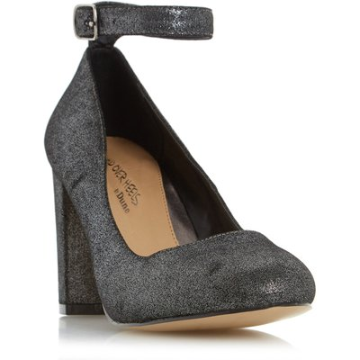 Head Over Heels Ariana ankle strap court shoes, Pewter